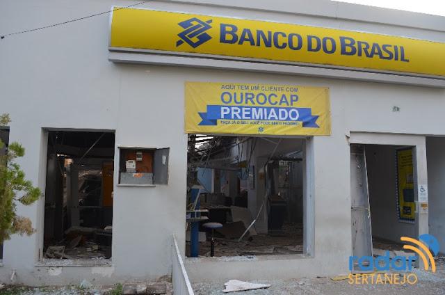 Banco do Brasil gastará R$ 1 milhão para reformar agência arrombada perto do Vale do Piancó...