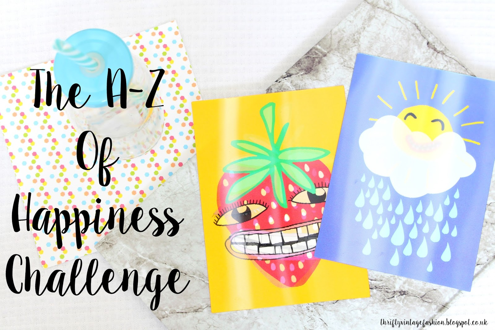 The A-Z Of Happiness Challenge UK lifestyle blogger mental health illness support help advice challenge UK OCD anxiety