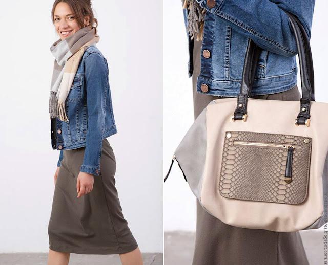 Moda invierno 2016 Ver. Moda ropa de mujer invierno 2016 camperas de jean de mujer.