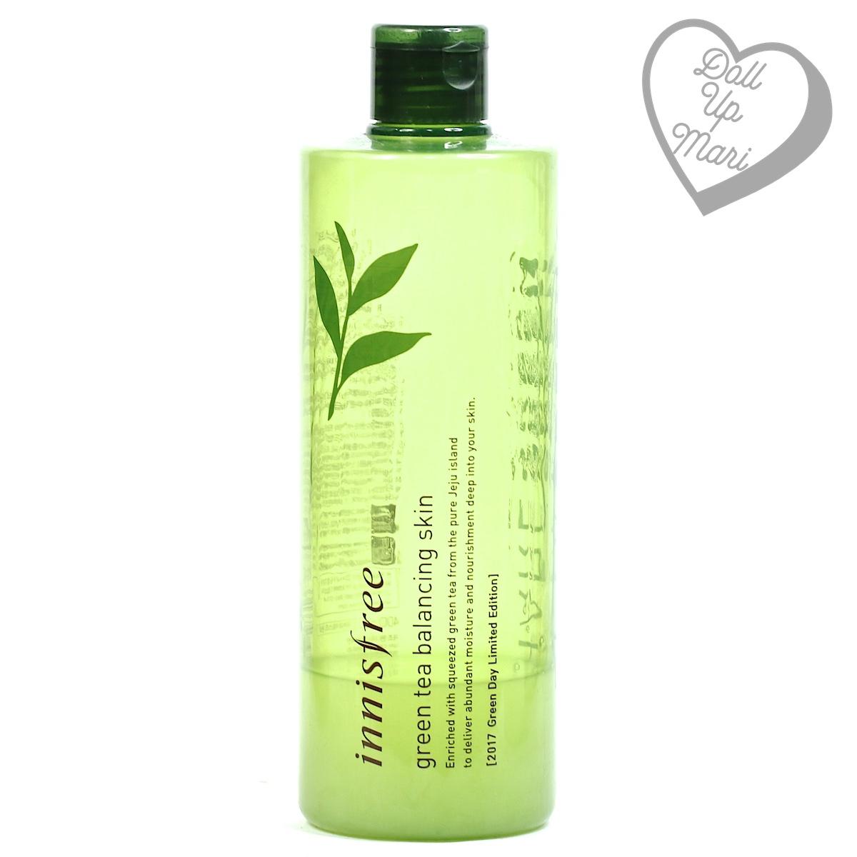 pack shot of innisfree Green Tea Balancing Skin