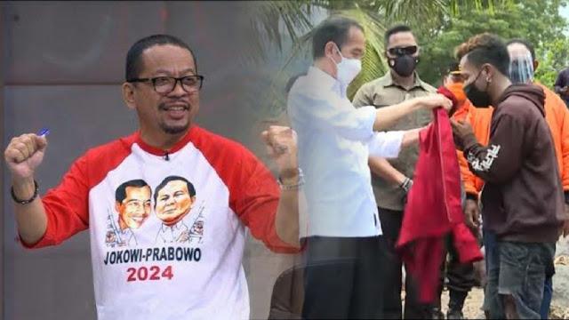 Teriak Jokowi '3 Periode' Pemuda NTT Dapat Jaket, Sosiolog: Kalau Qodari Dapat Apa?
