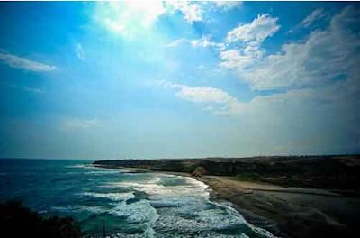 Objek Wisata Pantai Cijeruk Indah Garut Terbaru