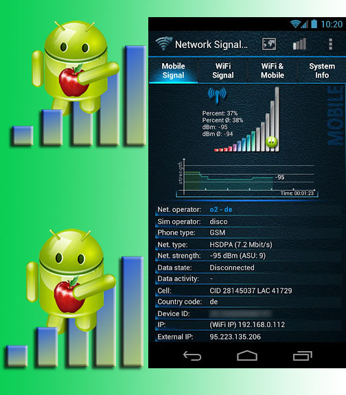 onekhdroid: Mobile Fresh network signal booster
