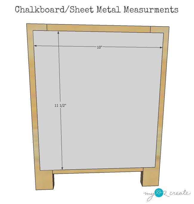 chalkboard measurments