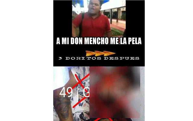 """Imagenes donde se burlan con """"memes"""" en las redes sociales de la tragica muerte de El Pirata de Culiacan"""