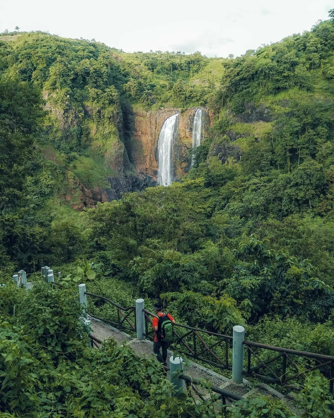 Lokasi Dan Harga Tiket Masuk Curug Puncak Manik Sukabumi Jawa