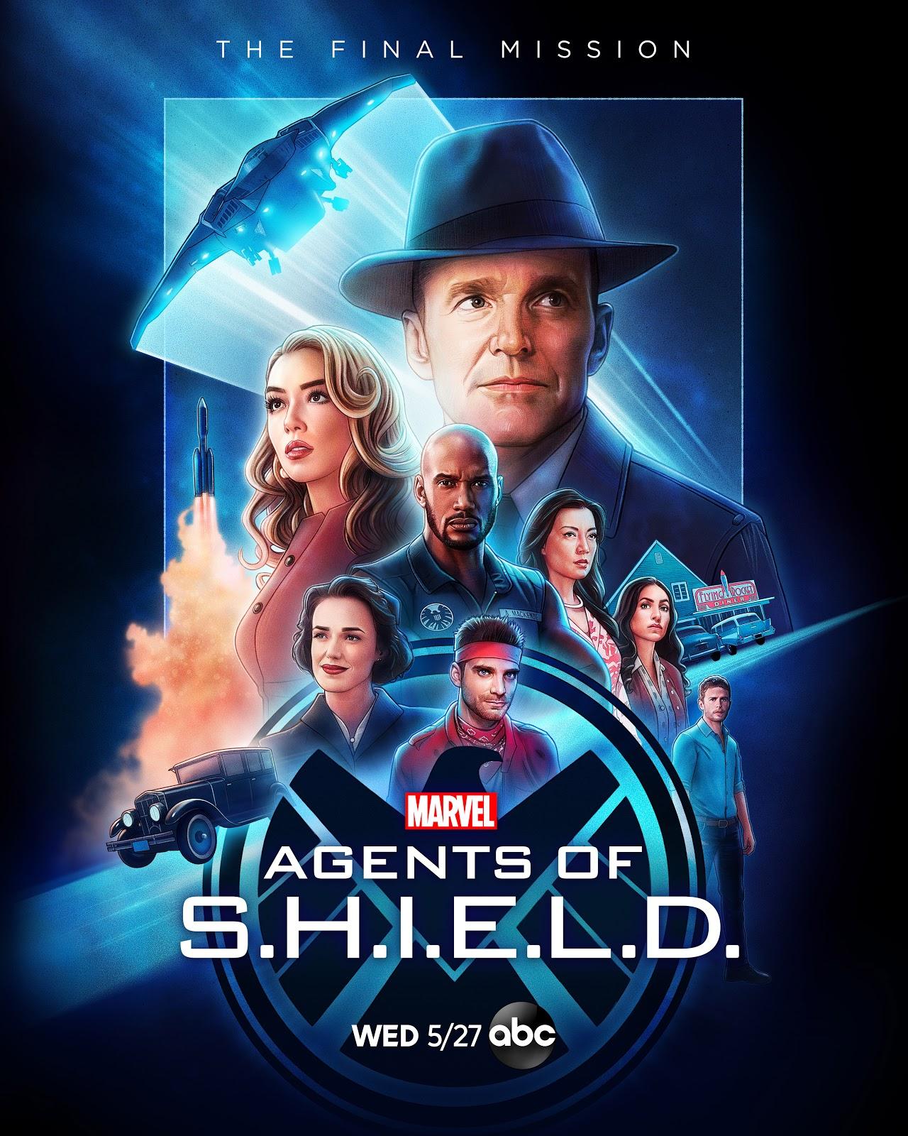 Marvel's Agents of SHIELD season 7 key art