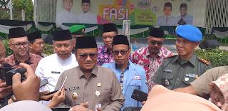 Wawako Jambi Secara Resmi Membuka Festival Anak Sholeh Indonesia XIX Kota Jambi.