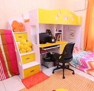Rumah Mungil dengan Interior Unik