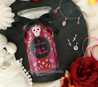 "JewelCandle ""Website Giveaway"" : vinci gratis candela con gioiello Dia de Muertos! (bracciale con charm in argento sterling 925)"