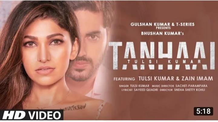 Tanhaai lyrics - tulsi kumar | lyricsmoment