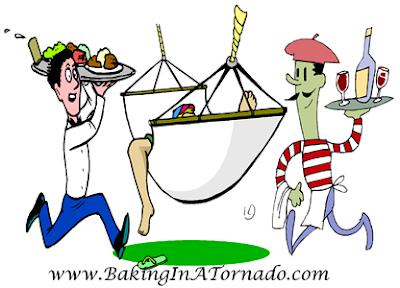 Hammock Lunch | graphic designed by and property of www.BakingInATornado.com | #MyGraphics