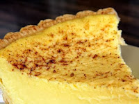Grandma's Old Fashioned Custard Pie