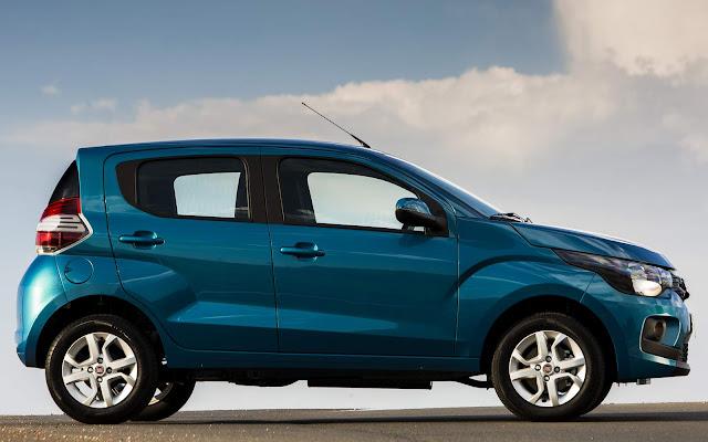 Novo Fiat Mobi 2017 - lateral