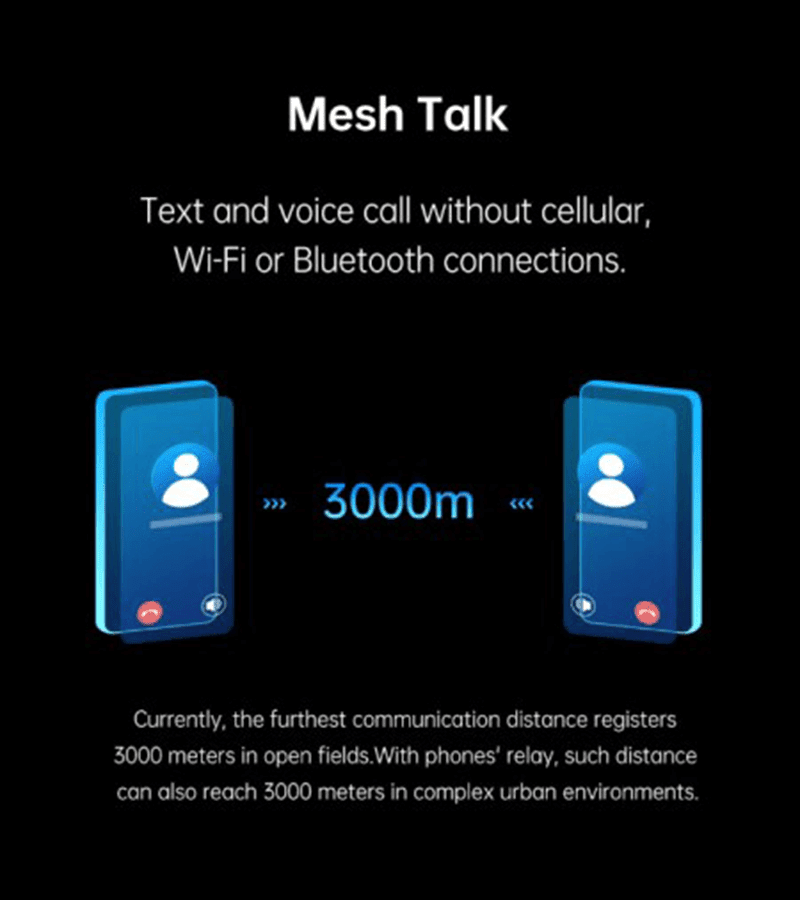OPPO intros MeshTalk, can make calls/SMS even with no carrier or data