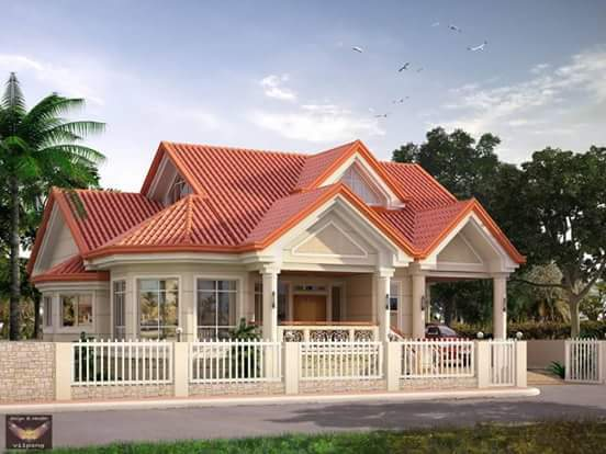 20 small beautiful bungalow house design ideas ideal for for Bungalow design concept