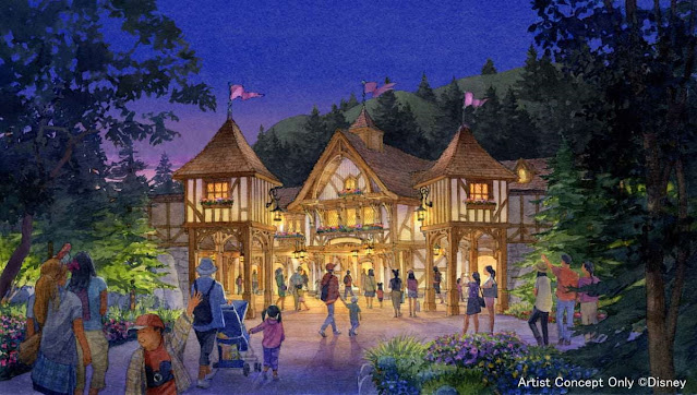 東京迪士尼樂園, 夢幻樂園森林劇場, 米奇魔法音樂世界, Tokyo-Disneyland-Fantasyland-Forest-Theatre-Mickeys-Magical-Music-World-Opening-Day-Announcement