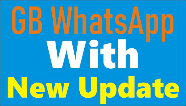 gb whatsapp with new updates