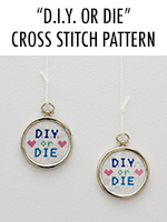 Aww how cute! This cross stitch pattern is to die for!