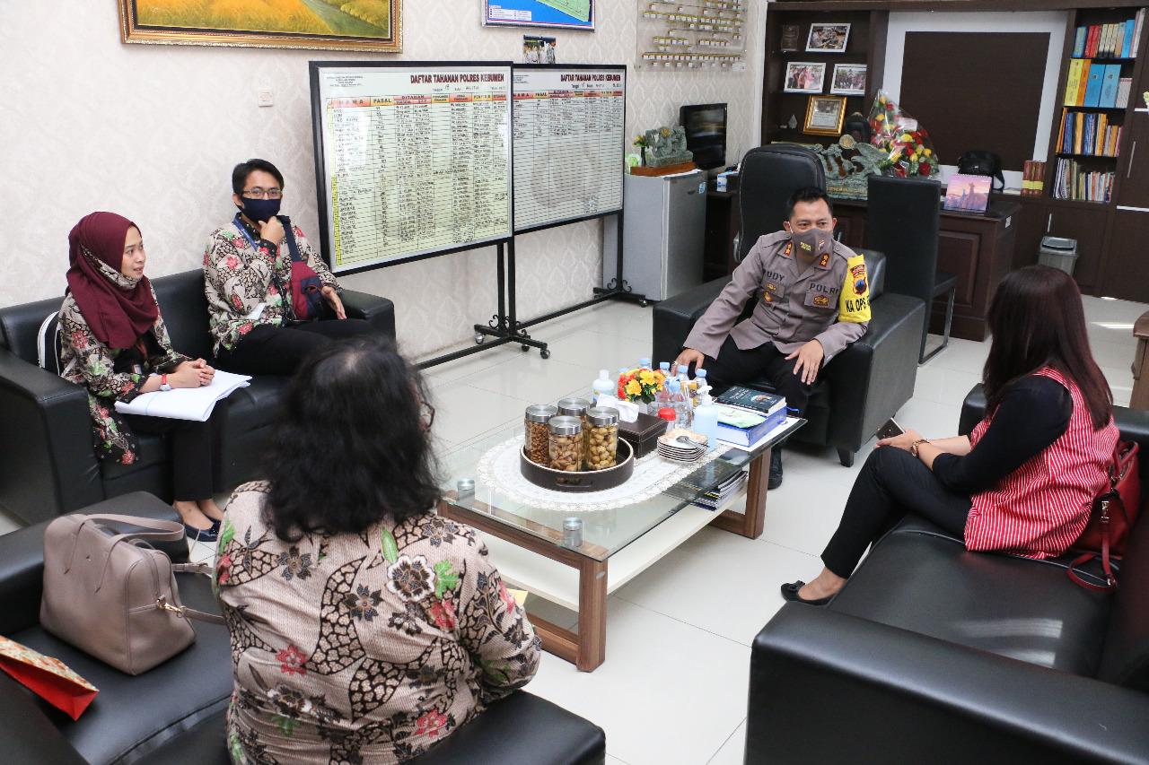 Jalin Kerjasama, Polres Kebumen dan BRI Teken MoU