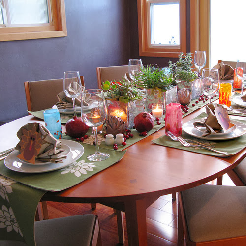 Decoration Inspiration: Modern Furniture: 2013 Thanksgiving Tabletop Inspiration