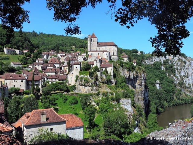 Saint-Cirq Lapopie, Francia