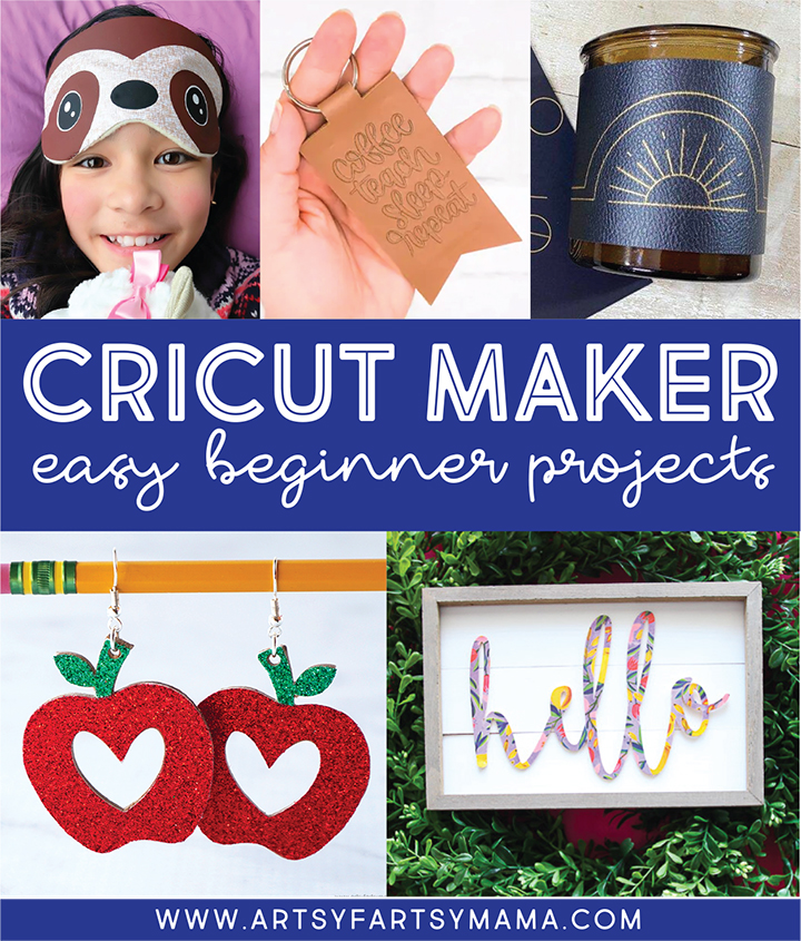 Easy Cricut Maker Projects for Beginners