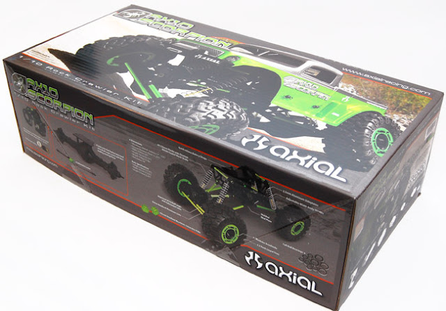 Axial AX10 Scorpion Box Art