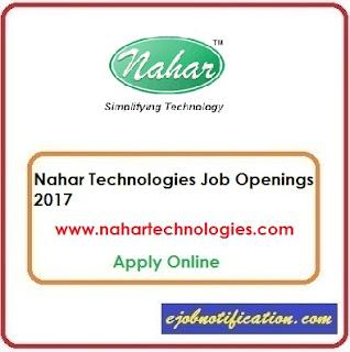 Nahar Technologies Hiring Freshers Software Developer Jobs in Bangalore Apply Online