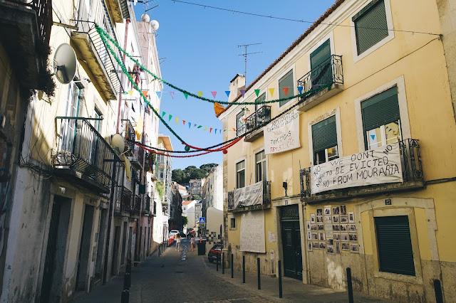ラガレス通り(Rua dos Lagares)