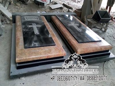 Kijing Makam Kristen, Model Kuburan Kristen Modern, Model Makam Kristen