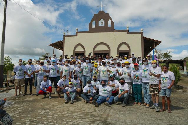 ROMARIA 2021: Prefeitura realiza Mutirão de Limpeza no Cruzeiro de Frei Damião