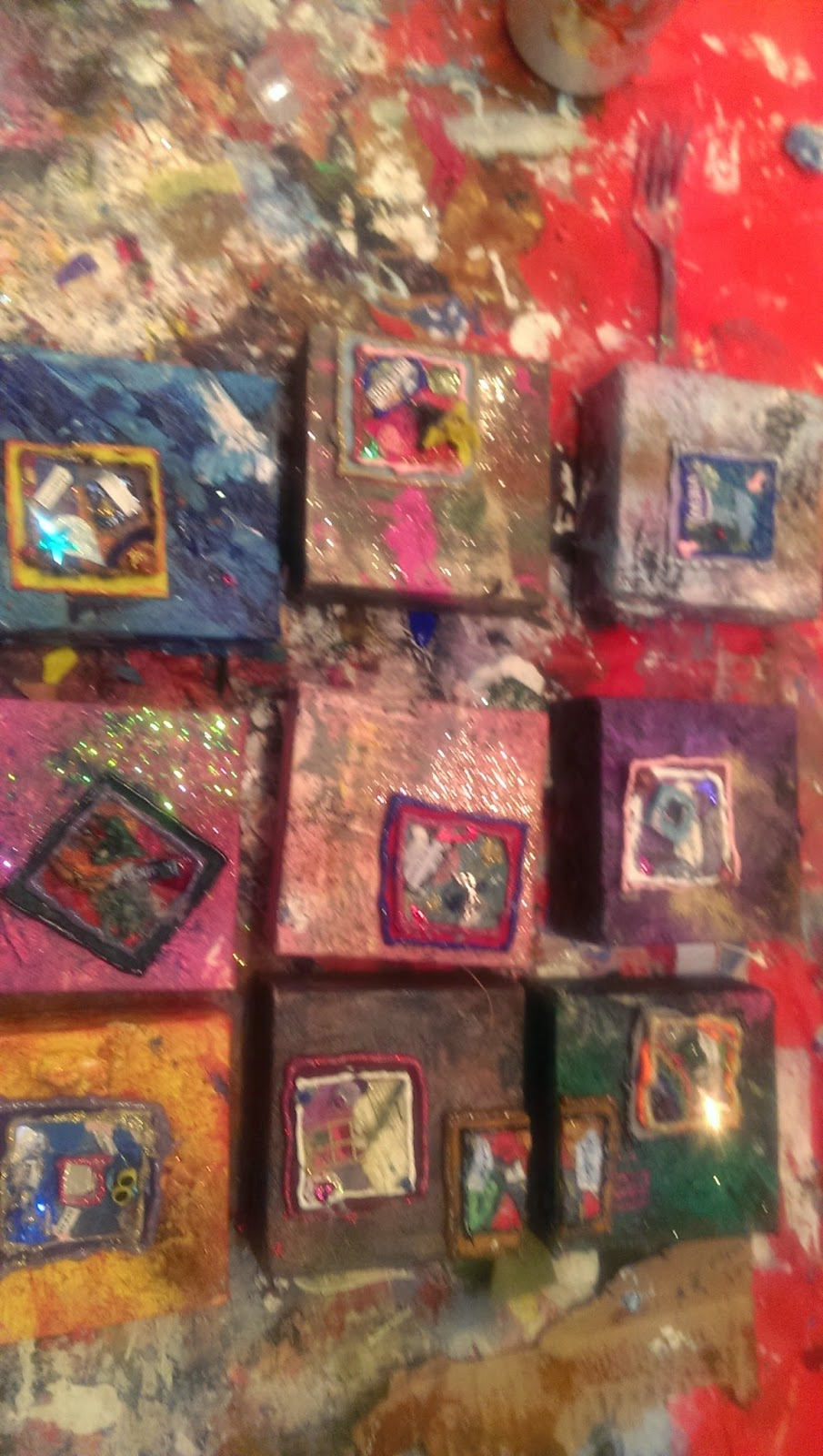Allspice Amp Acrylics Finding Home Dancing On Canvases