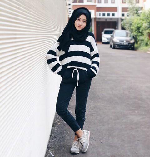 first blog zahrin: ootd hijab by shirin Al Athrus(@shireeenz)