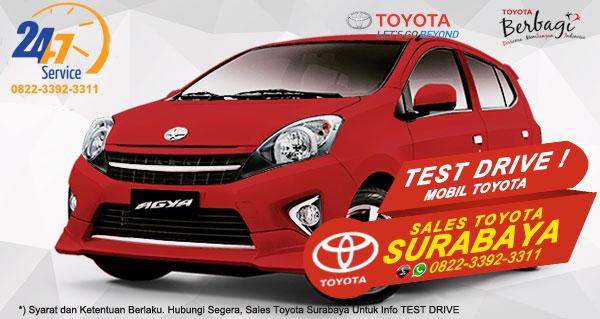 Info Test Drive Toyota Agya Surabaya