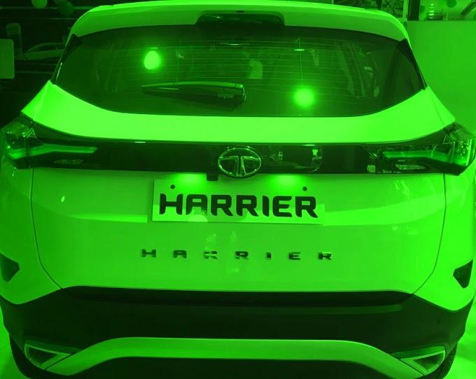 TATA Harrier (BS6) the most attractive SUV. TATA है TATA.