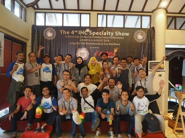 Kegiatan Kontes Komunitas Indonesia Hollander Club (IHC)