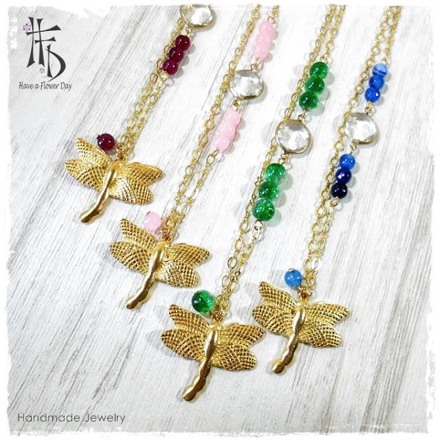 Colgante Libélula · Dragonfly Pendant