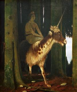 Arnold Böcklin: Das Schweigen des Waldes. 1885