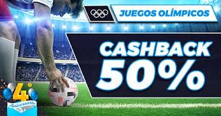 Paston promo futbol Juegos Olímpicos hasta 25-7-21