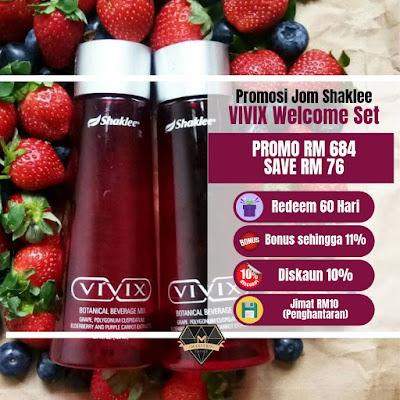 Vivix Promosi Jom Shaklee