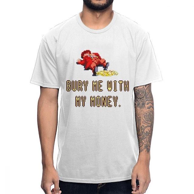 Bury Me With My Money T-Shirt