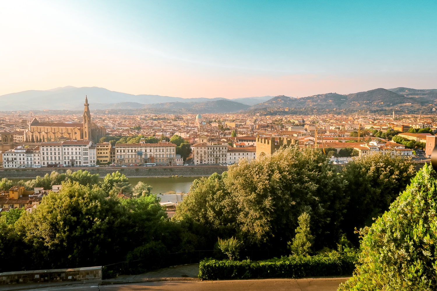 Piazzale Michelangelo Views, Florence Italy Travel, Things to do in Florence Italy