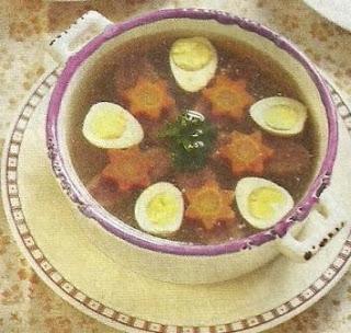 Состав продуктов и описание приготовления блюда.