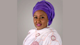 Aisha Buhari urges Africans to quit disparaging fruitless ladies