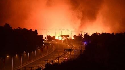 Ολική διακοπή στην εθνική οδό από Αθήνα μέχρι Κάστρο Βοιωτίας