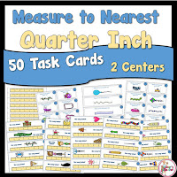 Measure by Quarter Inch