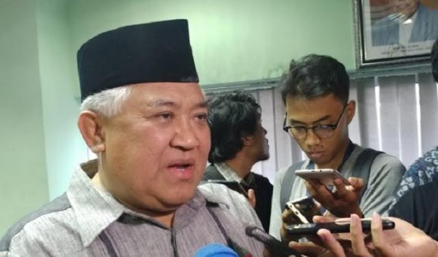 Din Syamsuddin Komentari Putusan MK: Rasa Keadilan Saya Terusik