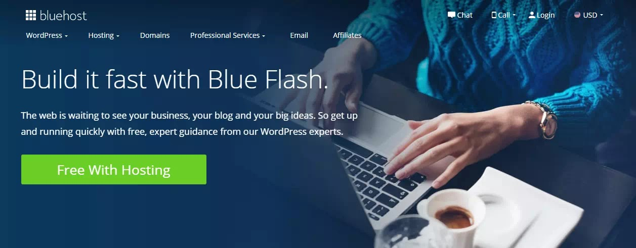 Blue Flash Launch Support