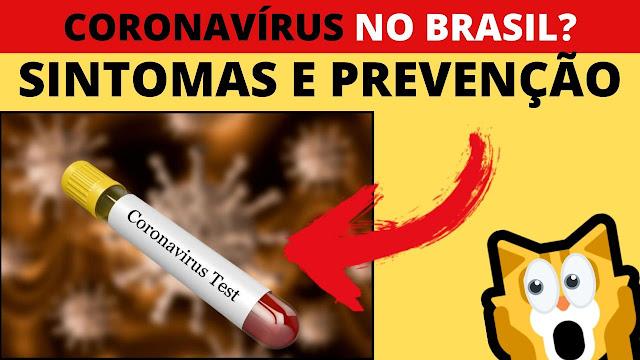 O que é coronavírus? Quais os Sintomas? Como prevenir?